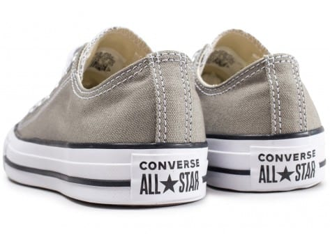 Chaussures Converse Chuck Taylor All Star Low beige vue dessous