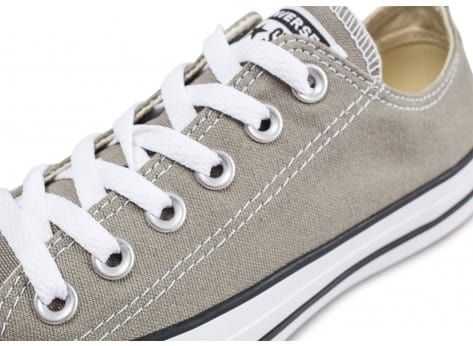 Chaussures Converse Chuck Taylor All Star Low beige vue dessus