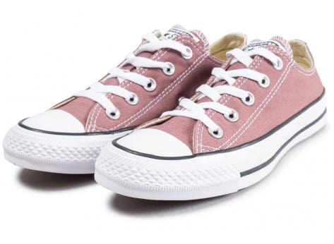 Chaussures Converse Chuck Taylor All Star Low rose vue intérieure