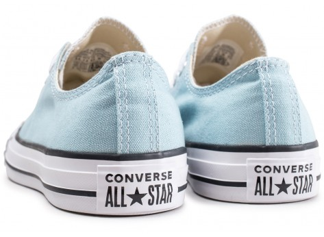 Chaussures Converse Chuck Taylor All Star Low turquoise vue dessous