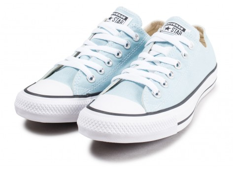 Chaussures Converse Chuck Taylor All Star Low turquoise vue intérieure
