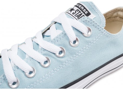 Chaussures Converse Chuck Taylor All Star Low turquoise vue dessus