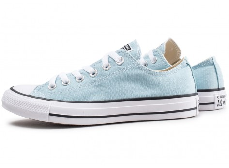 Chaussures Converse Chuck Taylor All Star Low turquoise vue extérieure