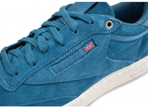 Chaussures Reebok Club C 85 Montana Cans Collaboration vue dessus