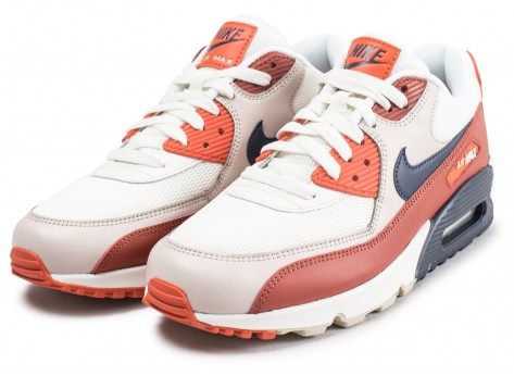 Chaussures Nike Air Max 90 Essential Mars Stone vue intérieure