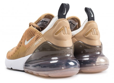 Chaussures Nike Air Max 270 or vue dessous