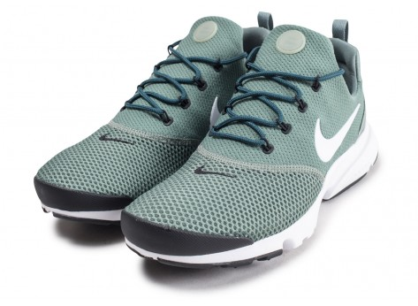 Chaussures Nike Presto Fly verte vue intérieure