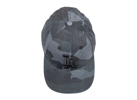 Casquettes New Era Casquette 9/40 Washed camouflage noire