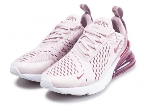 Chaussures Nike Air Max 270 rose vue intérieure