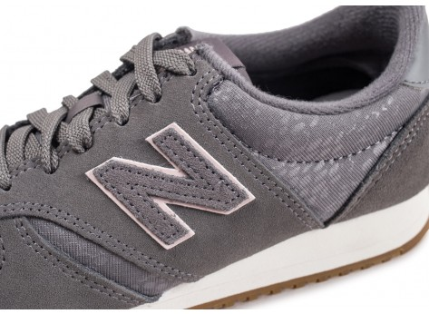 Chaussures New Balance WL420GPG grise femme vue dessus
