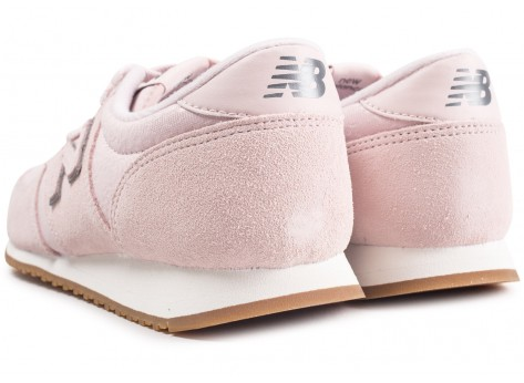 Chaussures New Balance WL420PGP rose femme vue dessous