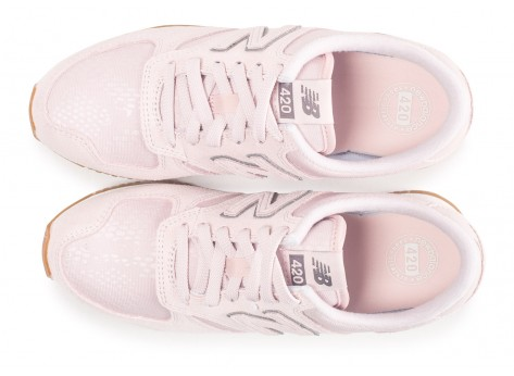 Chaussures New Balance WL420PGP rose femme vue arrière