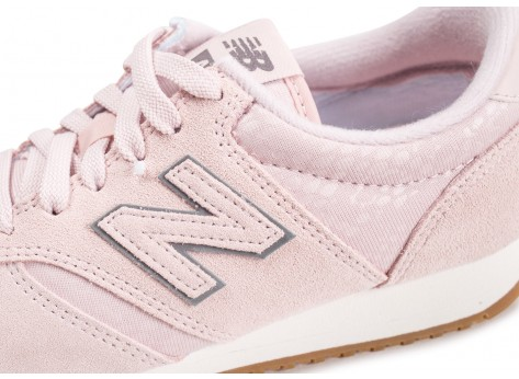 Chaussures New Balance WL420PGP rose femme vue dessus
