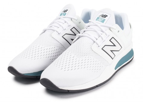 Chaussures New Balance MS247TW blanche  vue intérieure