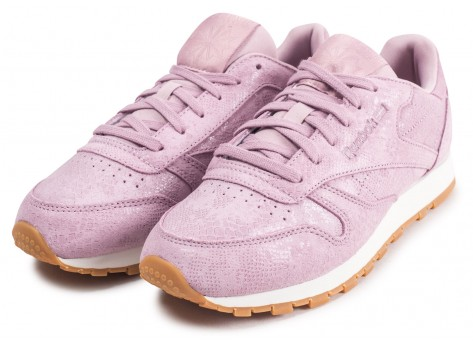 Chaussures Reebok Classic Leather lila femme vue intérieure
