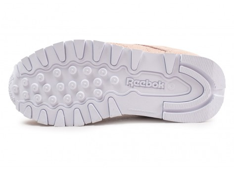 Chaussures Reebok Classic Leather rose gold enfant vue avant
