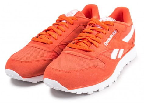 Chaussures Reebok Classic Leather orange  vue intérieure