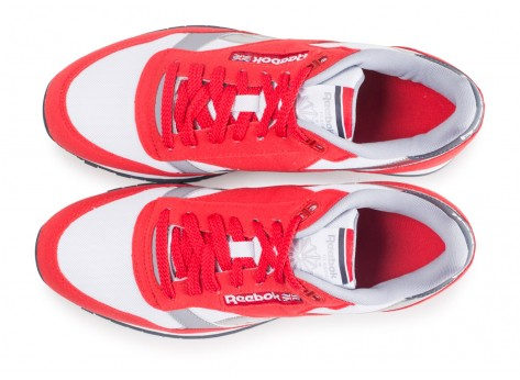 Chaussures Reebok Classic leather Primal Red vue arrière
