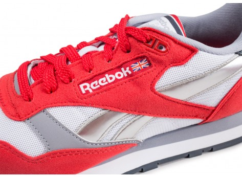 Chaussures Reebok Classic leather Primal Red vue dessus