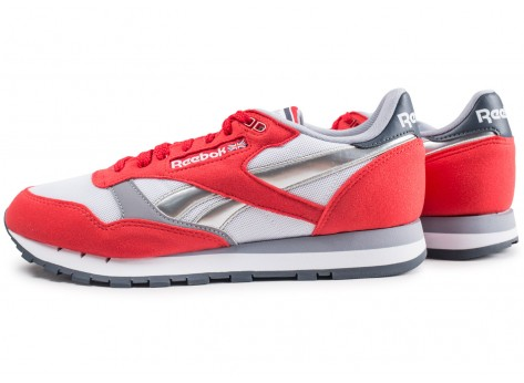 Chaussures Reebok Classic leather Primal Red vue extérieure