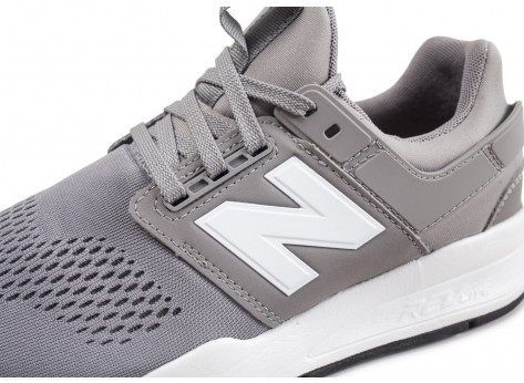 Chaussures New Balance MS247EG grise vue dessus