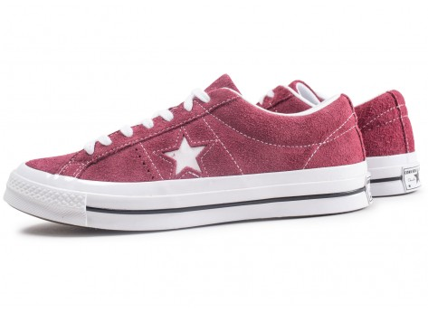 converse rouge bordeau