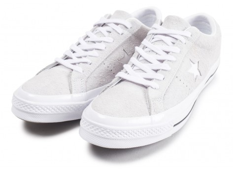 Chaussures Converse One Star gris vue intérieure