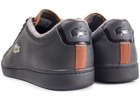 Chaussures Lacoste Carnaby Evo noir vue dessous