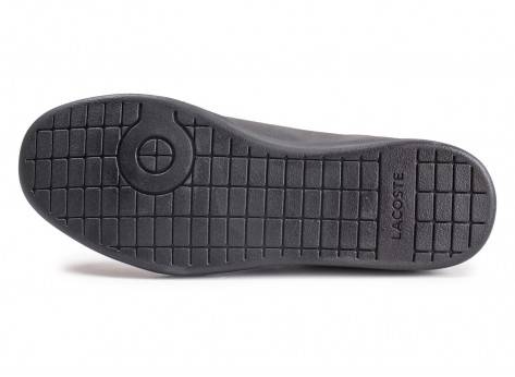 Chaussures Lacoste Carnaby Evo noir vue avant