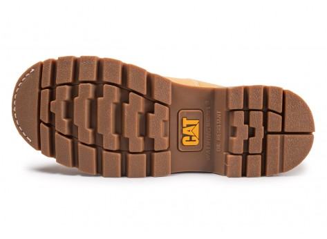 Chaussures Caterpillar Colorado beige vue avant