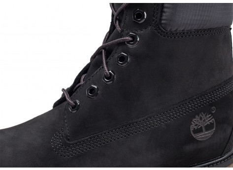 Chaussures Timberland 6-inch Premium boots noires vue dessus