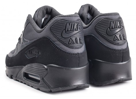 Chaussures Nike Air Max 90 Essential black anthracite vue dessous