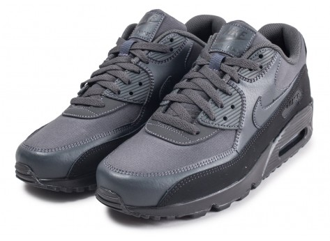 Chaussures Nike Air Max 90 Essential black anthracite vue intérieure