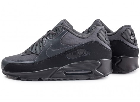 Chaussures Nike Air Max 90 Essential black anthracite vue extérieure