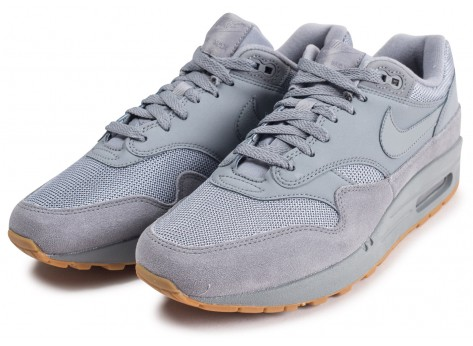 Chaussures Nike Air Max 1 grise vue intérieure
