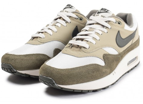Chaussures Nike Air Max 1 Medium Olive vue intérieure