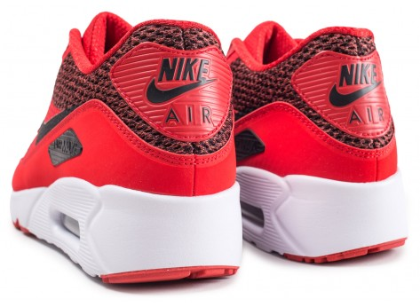Chaussures Nike Air Max 90 Ultra 2.0 Essential rouge vue dessous
