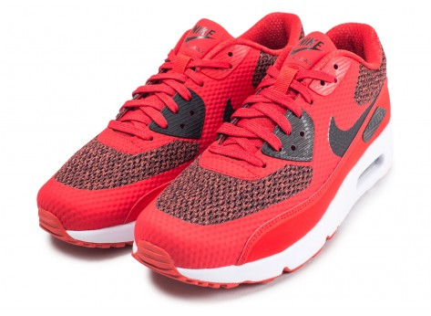 Chaussures Nike Air Max 90 Ultra 2.0 Essential rouge vue intérieure