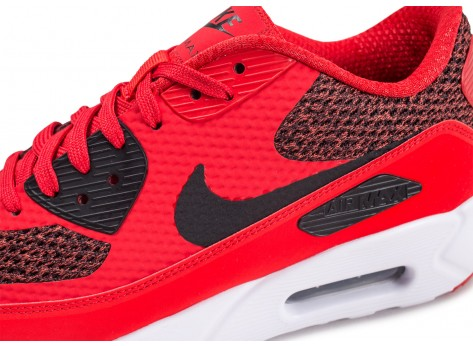 Chaussures Nike Air Max 90 Ultra 2.0 Essential rouge vue dessus