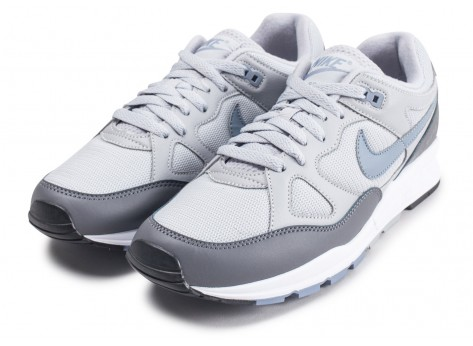 Chaussures Nike Air Span 2 grise vue intérieure