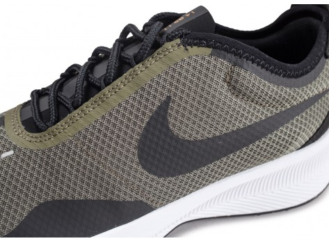 Chaussures Nike Fast EXP Racer kaki  vue dessus