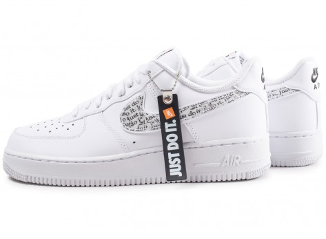 nike air force 1'07 just do it femme