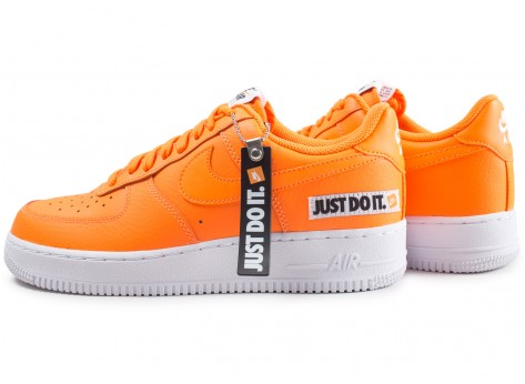 air force 1 orange just do it femme