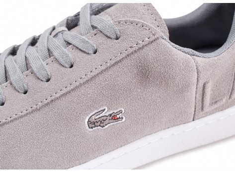 Chaussures Lacoste Carnaby Evo grise femme vue dessus