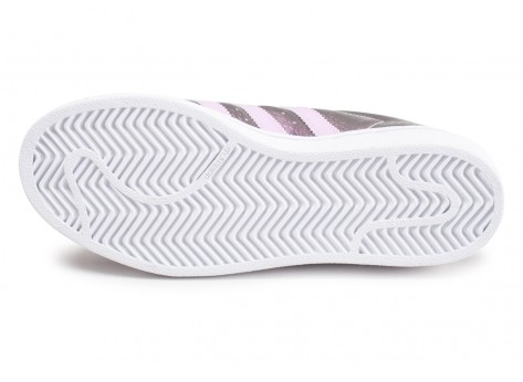 Chaussures adidas Superstar pink snake Junior vue avant