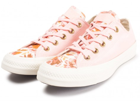 Chaussures Converse Chuck Taylor All Star Low Parkway Floral rose femme vue intérieure