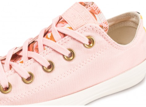 Chaussures Converse Chuck Taylor All Star Low Parkway Floral rose femme vue dessus