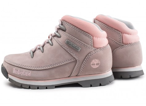 chaussures timberland rose
