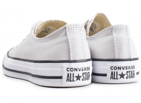 Chaussures Converse Chuck Taylor All Star low grise vue dessous