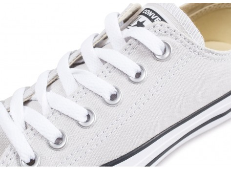 Chaussures Converse Chuck Taylor All Star low grise vue dessus